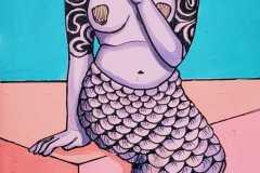 Tired Mermaid